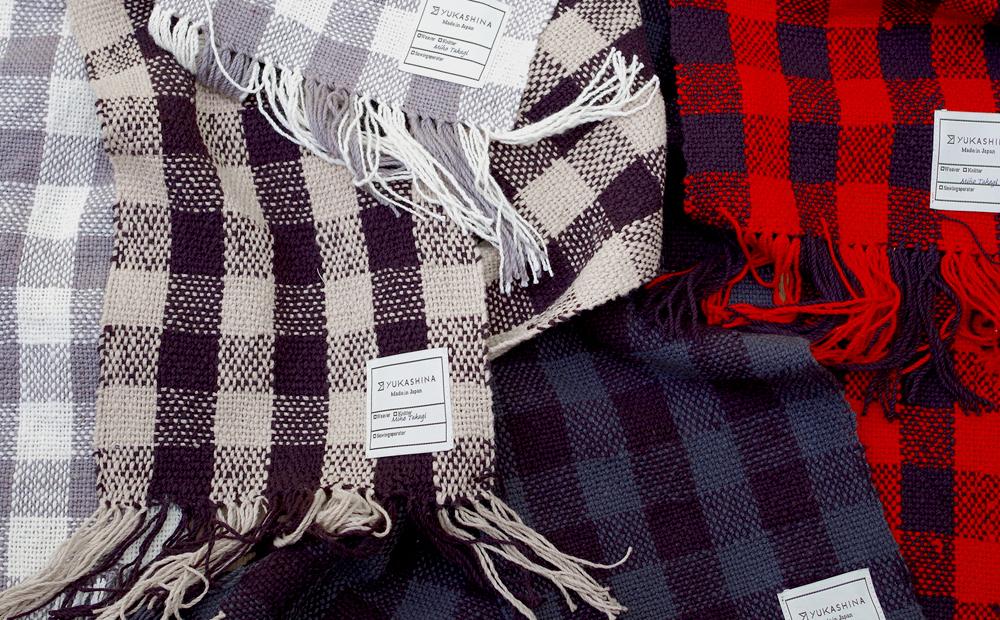 手紡ぎ 手織り オーダーメイド ストール
